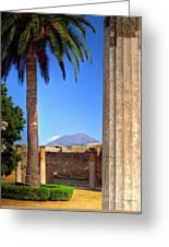 Quiet Vesuvius Greeting Card