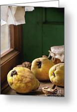 Quince And Honey Greeting Card