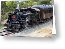 Quincy Railroad No. 2 Greeting Card