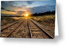 Railroad Greeting Card