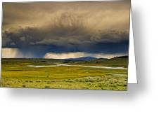Rain Sky Greeting Card