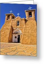 Ranchos De Taos Church  Greeting Card