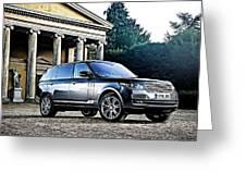 Range Rover Greeting Card