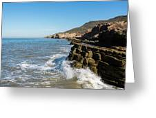 Point Loma Tide Pools Area Greeting Card