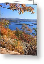 Rattlesnake Cliffs Squam Lake Greeting Card