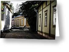 Rauma Old Town Greeting Card