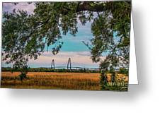 Ravenel Bridges Greeting Card