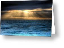 Rays Of Light 2 Greeting Card