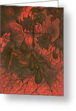 Red Hell  Greeting Card