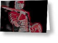 Red Knight Greeting Card