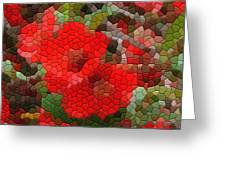 Red Quince Greeting Card