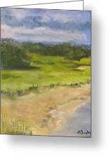 Red River Marsh Greeting Card