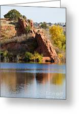Red Rock Canyon And Garden Of The Gods Greeting Card
