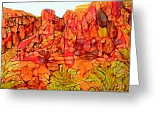 Red Rock Canyon Loop Greeting Card