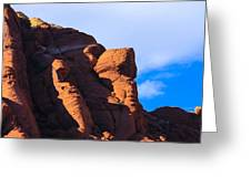 Red Rock Greeting Card
