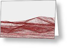 Red.318 Greeting Card