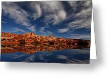 Redrock Reflections Greeting Card