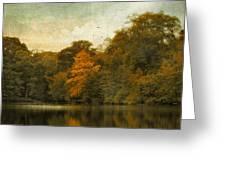 Reflecting October Greeting Card