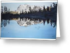 Reflection Lake Greeting Card