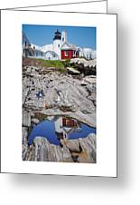 Reflections Of Pemaquid Greeting Card