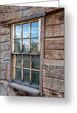 Reflections Of Time Greeting Card by Sandra Bronstein