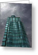 Reflective High Rise Building Greeting Card