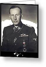 Reinhard Heydrich Circa 1940 Color Added 2016 Greeting Card
