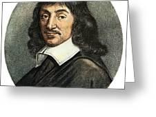 Rene Descartes, 1596-1650 Greeting Card