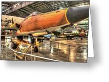 Republic F-105, Thunderchief Greeting Card