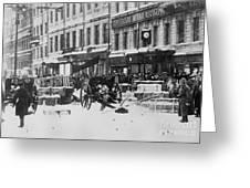Revolution Of 1917 Greeting Card