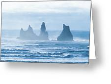 Reynisdrangar. Greeting Card