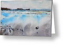 Rhossili Bay, Wales Greeting Card