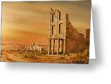 Rhyolite Nevada Greeting Card