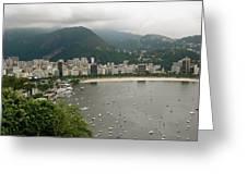 Rio De Janeiro Vi Greeting Card