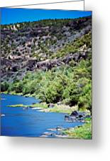 Rio Grande Gorge  Greeting Card