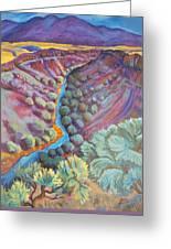 Rio Grande In September Greeting Card