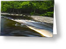 River Flow IIi Greeting Card