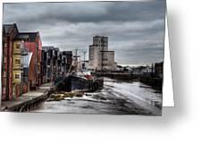 River Hull Greeting Card
