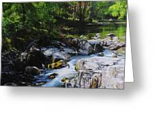 River In Wales Greeting Card
