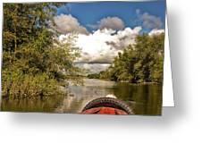River Greeting Card