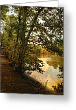 Riverside Reflections Greeting Card