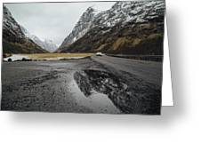 Road Of Norway Greeting Card