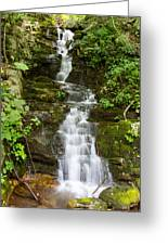 Roadside Waterfall Greeting Card