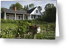 Robert Frost Homestead - Franconia New Hampshire Usa Greeting Card