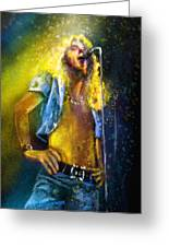 Robert Plant 01 Greeting Card