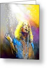 Robert Plant 02 Greeting Card