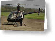 Robinson R22 Beta Greeting Card