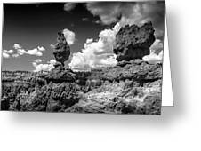 Rock Formations Of Bryce Canyon Greeting Card