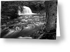 Rock River Falls Greeting Card