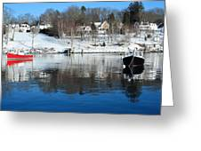Rockport Winter Greeting Card